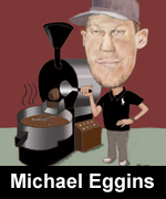 eggins cafe caricature