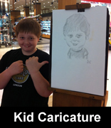 kid drawn from life