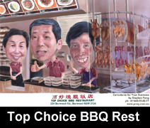 top choice caricature